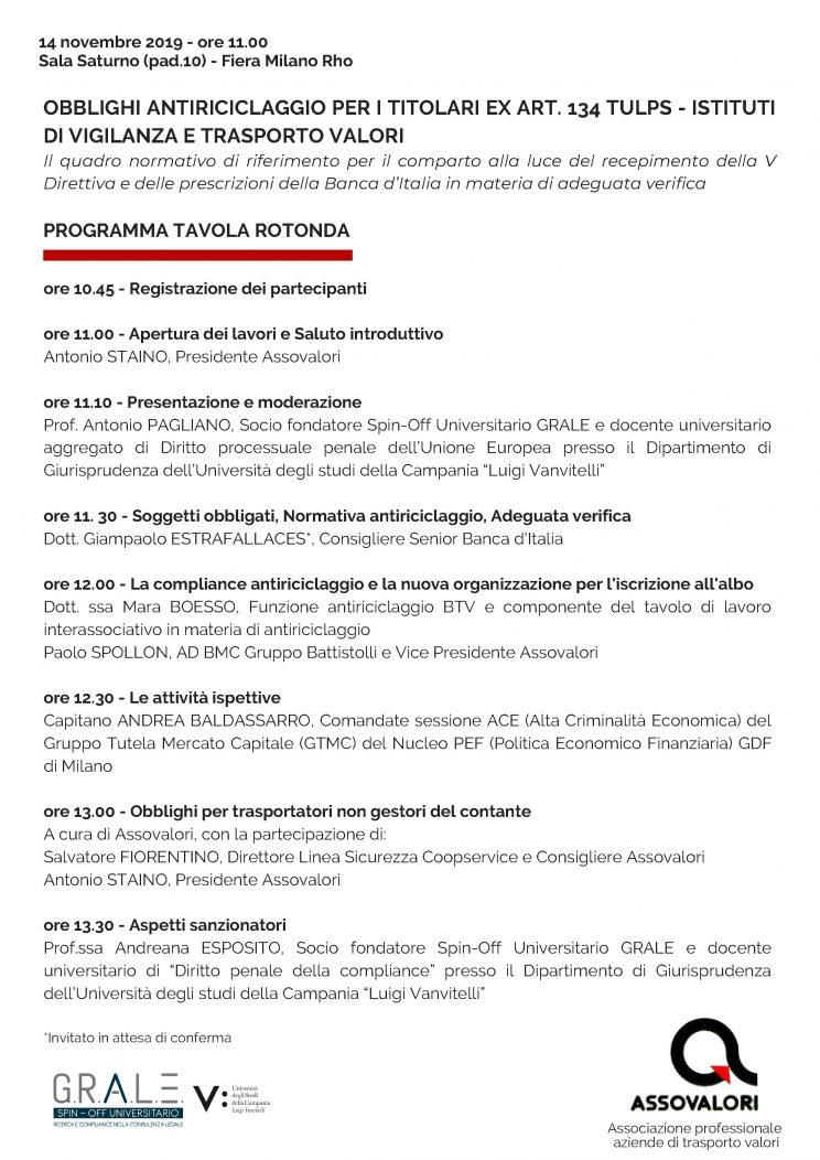 Convegno Assovalori  Sicurezza 2019.1