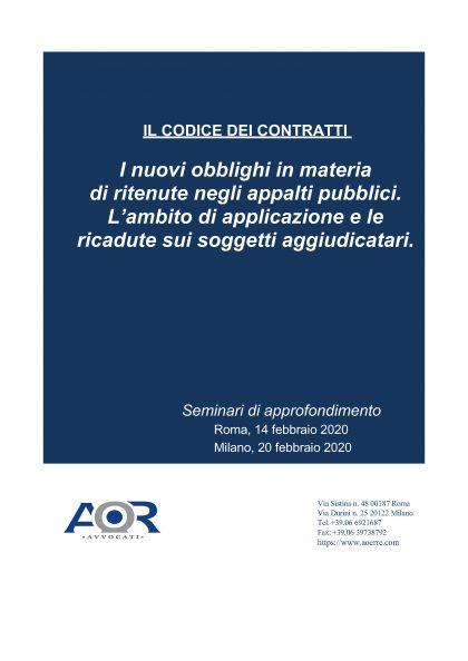 Locandina aggiornata seminario codice contratti.1